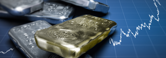 Comercializar com ouro e prata spot no MetaTrader 5 e 5